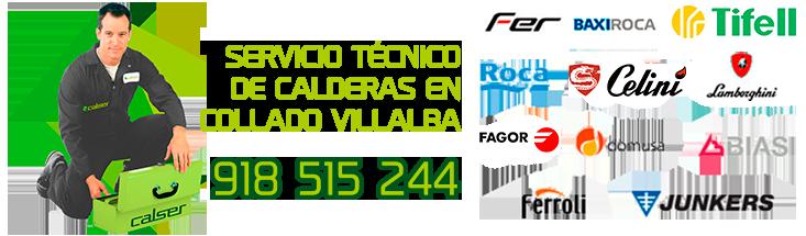 servicio técnico de calderas de gasoleo en Collado Villalba