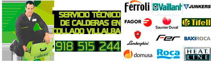 servicio tecnico de calderas de gas en Collado Villalba