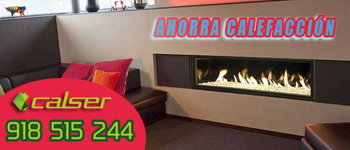 Salón de gran confort para ahorrar calefaccion