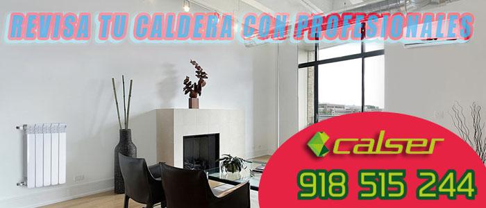 Un salon moderno y seguro con la Revision de calderas con los profesionales de Calser
