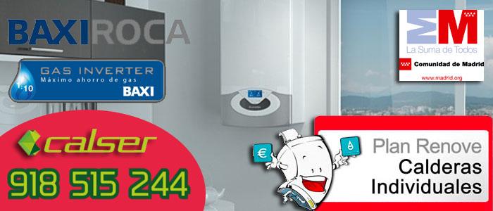 Caldera de gas Platinum COMBI Plus Baxi de condensacion con tecnologia Gas Inverter