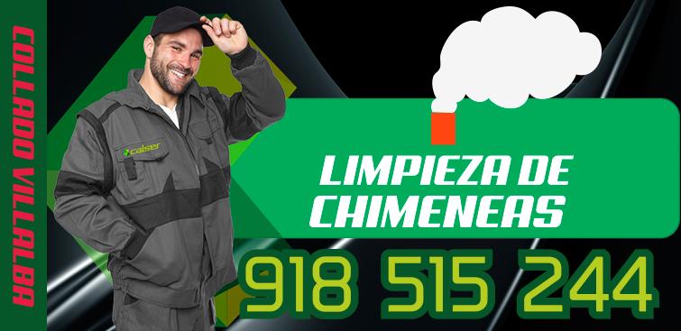 limpieza de chimeneas en Collado Villalba