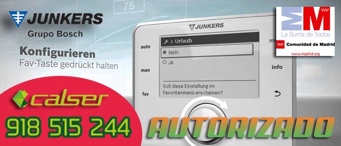 Error F7 calderas Junkers Cerapur