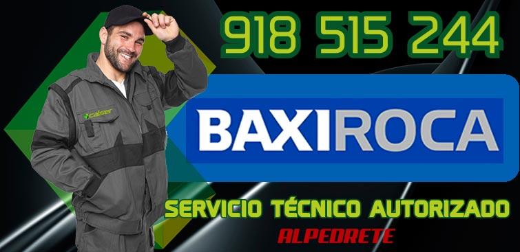 servicio tecnico calderas BaxiRoca Alpedrete