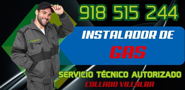 Instalador de gas Autorizado Collado Villalba