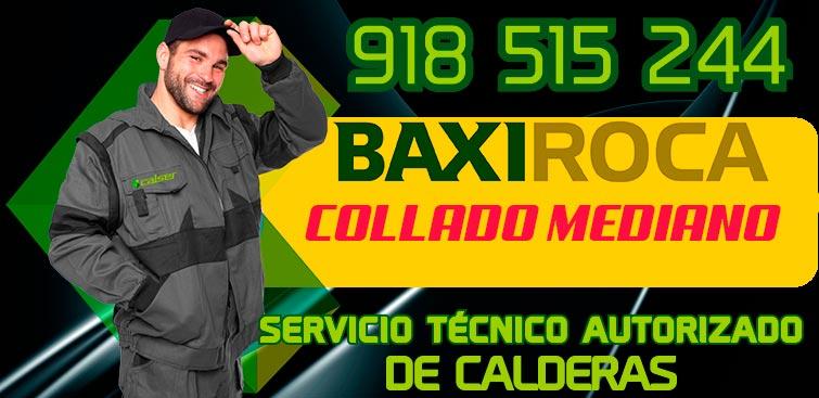 servicio tecnico de calderas BaxiRoca en Collado Mediano