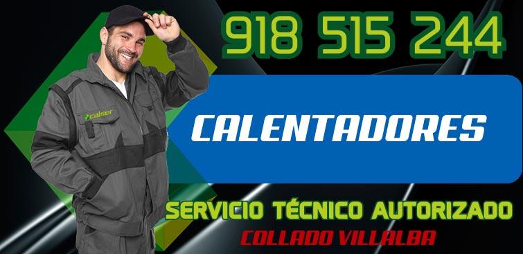 servicio tecnico calentadores Collado Villalba