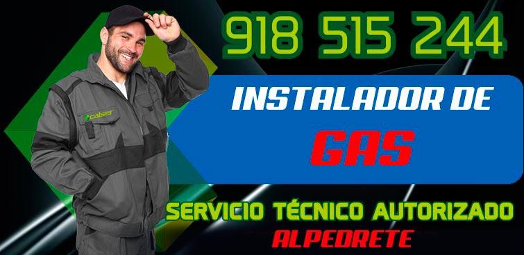 Instalador de gas Autorizado Alpedrete