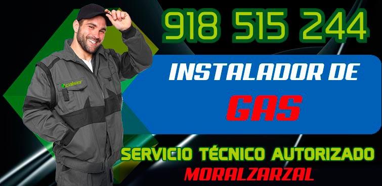 Instalador de gas Autorizado Moralzarzal