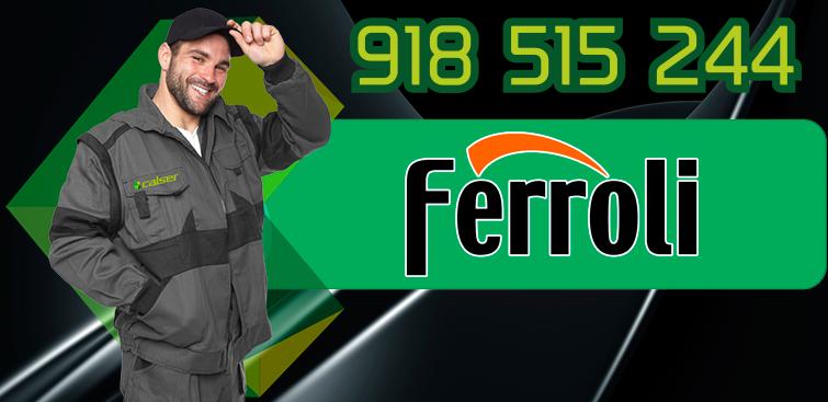 servicio tecnico de calderas Ferroli en Collado Villalba