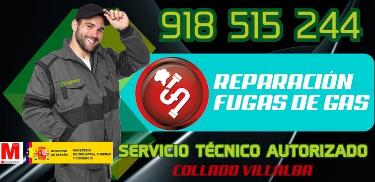 Reparación de fugas de gas en Collado Villalba