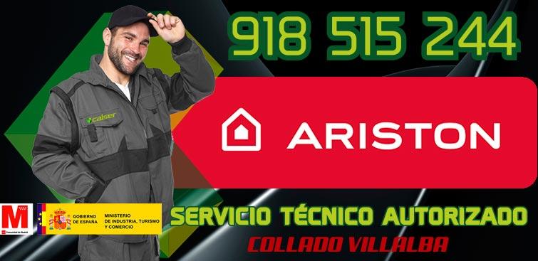 Servicio Técnico Calderas Ariston en Collado Villalba