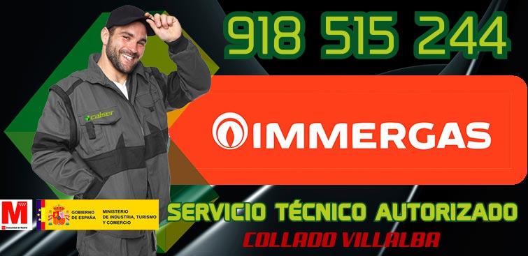 servicio técnico calderas Immergas en Collado Villalba