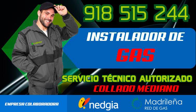 Instalador de gas Autorizado Collado Mediano